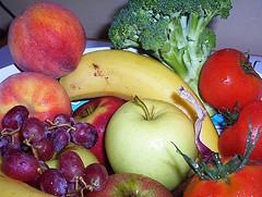Frutas y verduras para bajar de peso