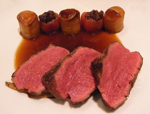 Filete de ternera light a la pimienta filete de ternera for Cocinar filetes de ternera