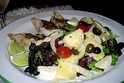 5 guarniciones de pescado bajas calor as 5 guarniciones - Ensaladas con pocas calorias ...
