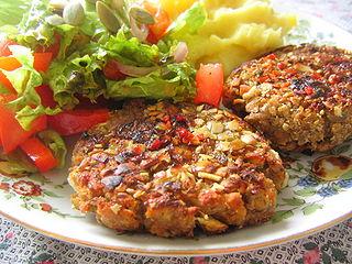 Hamburguesas light de arroz y vegetales hamburguesas - Arroz con verduras light ...