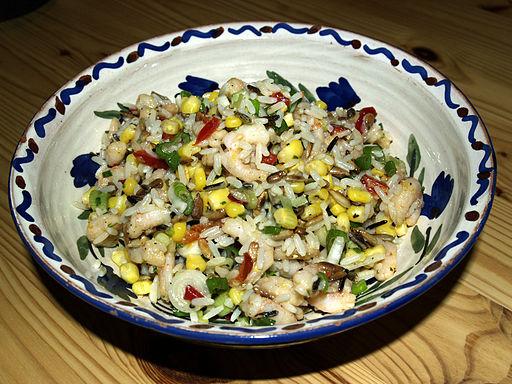 Ensalada light de arroz integral y lentejas saciante - Ensalada de arroz light ...