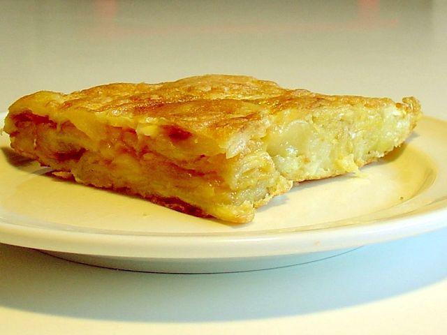 Receta de tortilla baja en calor as para controlar la - Tortilla francesa calorias ...