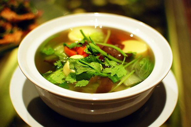 Receta de Sopa quema grasas :: Sopa adelgazante: Cuánto