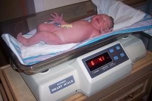 peso bebé