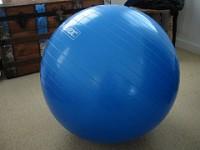 Ejercicios abdominales con pelota