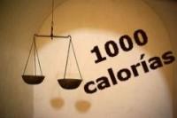 Dieta de las 1000 calorías