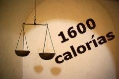 Dieta de 1600 calorías