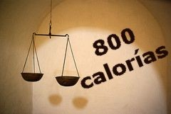 Dieta de las 800 calorías