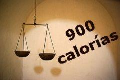 Dieta de las 900 calorías diarias