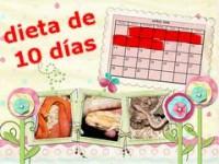 Dieta de 10 días