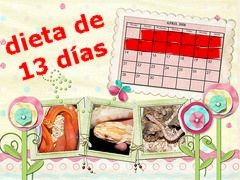 Dieta de los 13 días