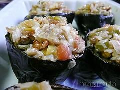 Receta bajas calorías de la cocina mediterránea
