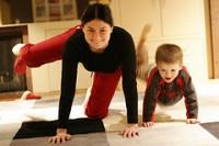 Pilates en el hogar
