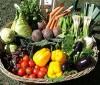 Tabla de verduras bajas calorías