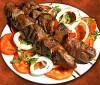 Kebab bajo en calorías y grasas