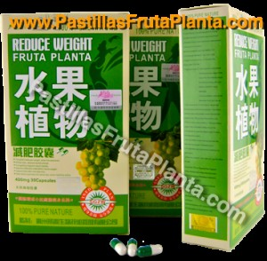 pastillas fruta planta