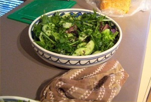 ensalada verde 300x203