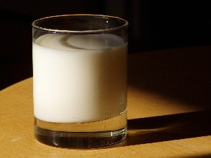 calorias de la leche