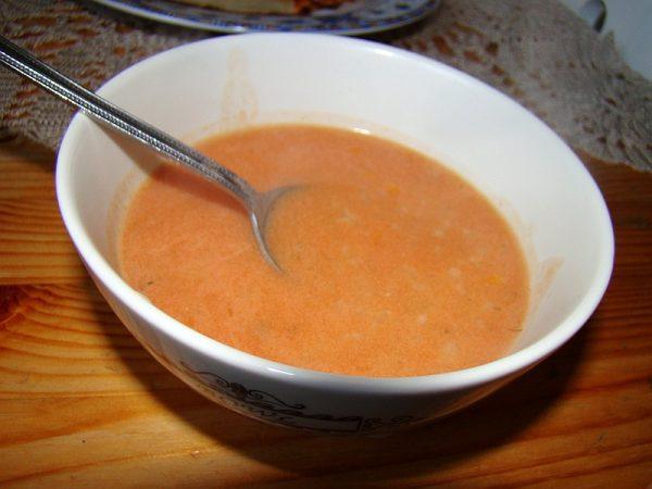 Sopa de tomate para perder 5 kilos