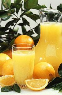 jugo de naranjas