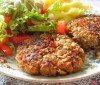 Hamburguesas light de arroz y vegetales