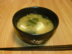 Sopa light de miso