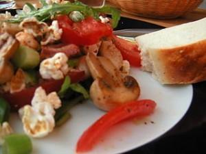 ensalada de setas y tomate 300x225
