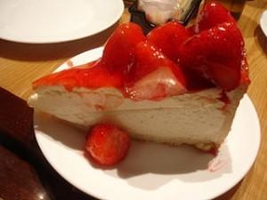 tarta de queso con fresas 300x225