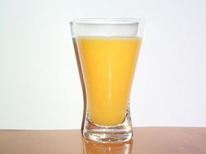 batido naranja