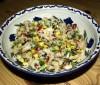 Ensalada de arroz integral para dieta Dukan