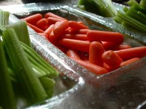zanahorias y apio