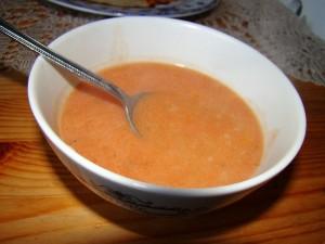 sopa de arroz