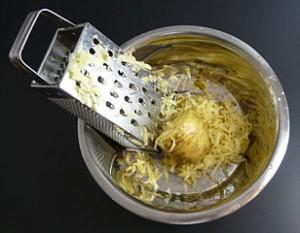 patata rallada cruda
