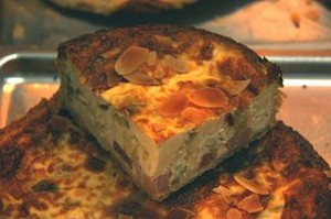 quiche de jamon y queso