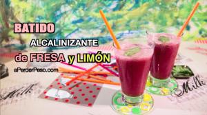 Batido Fresa y Limon miniatura