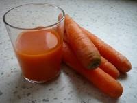 zumo de zanahorias