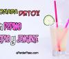 Cómo preparar una limonada detox para adelgazar