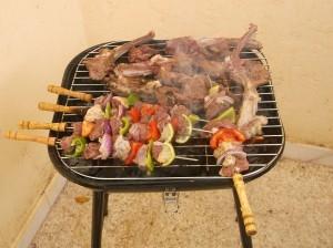 pinchos de carne