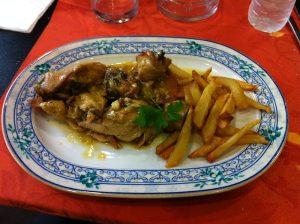 Pollo a la pepitoria