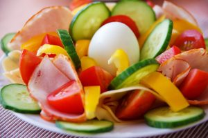 Vegetales en ensalada