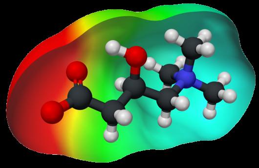L-carnitina-densidad-electronica
